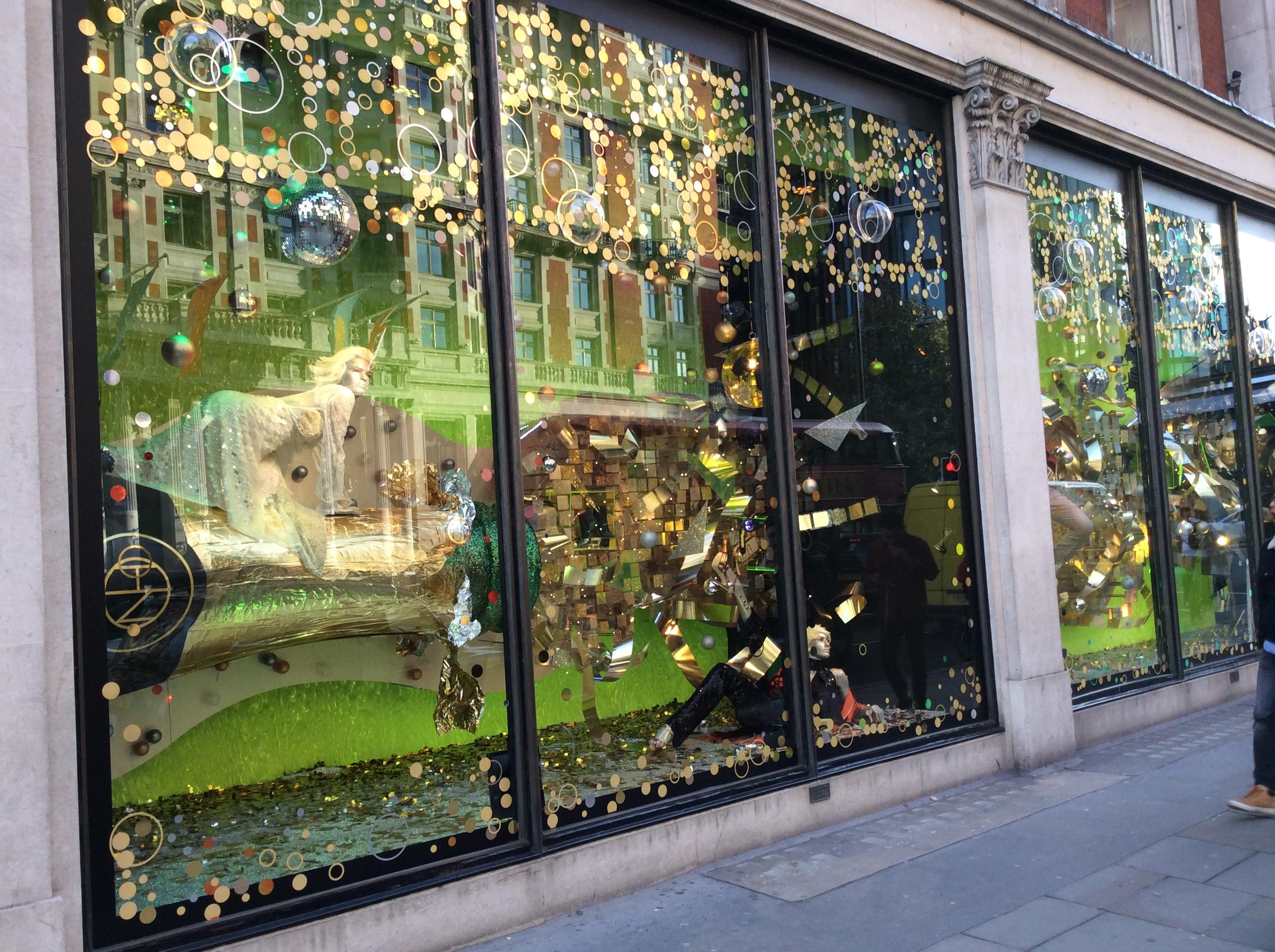 Harvey Nichols Window Display